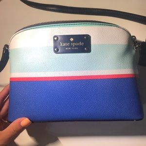 Multi colored Kate Spade crossbody/ shoulder bag